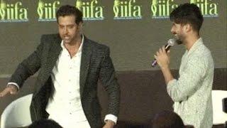 Shahid Kapoor & Hrithik Roshan's 'Kaho Naa Pyaar Hai' Moment