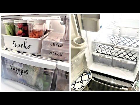 Fridge Organization | Food Storage & Organizational Tips & Ideas