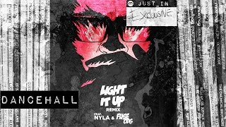DANCEHALL MAJOR LAZER ft. Nyla &amp Fuse O.D.G - Light it Up (Blinkie Remix) [Because]