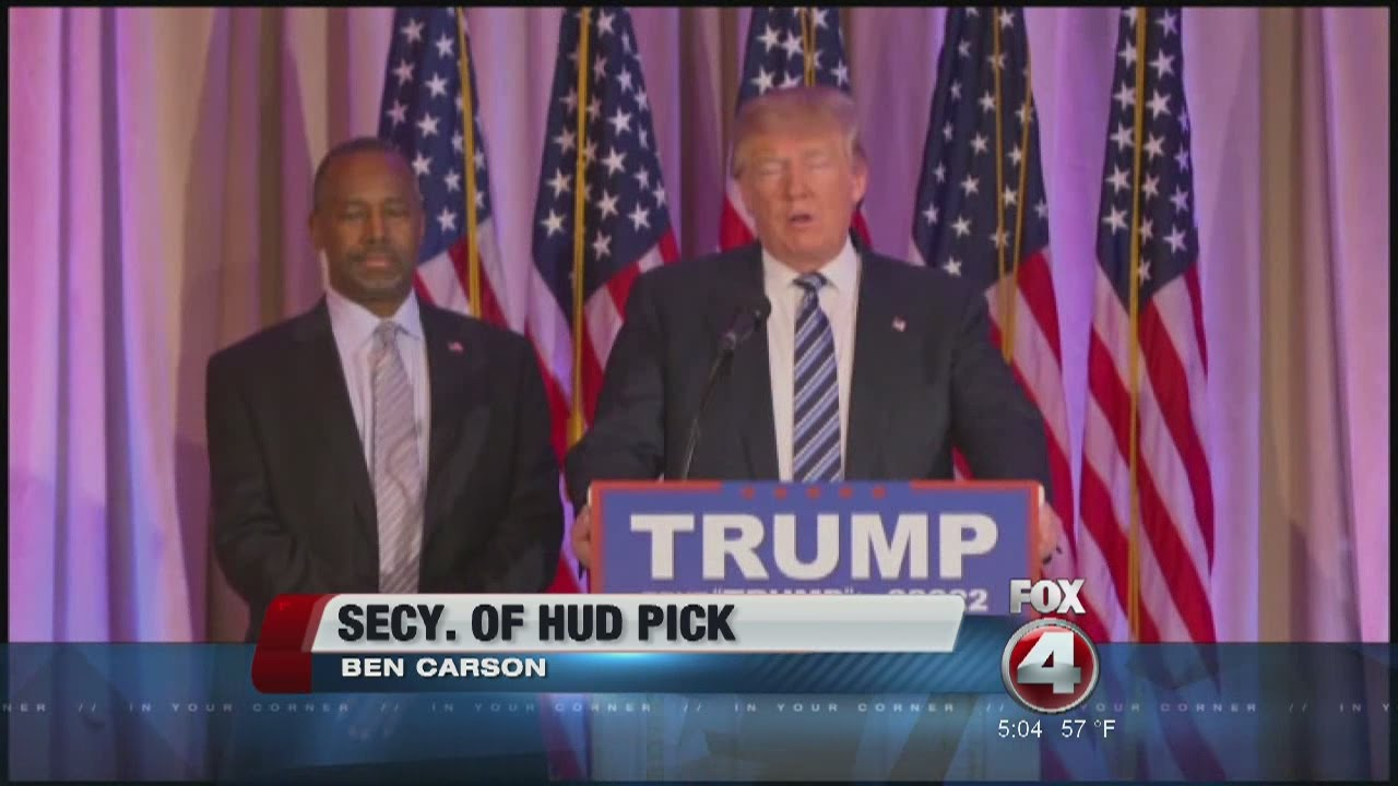 Ben Carson offered position in Trump cabinet - YouTube