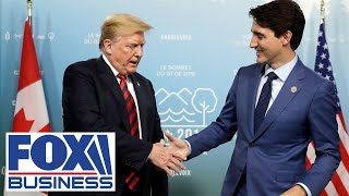 Trump meets with Canadian PM Justin Trudeau