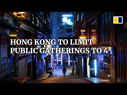 Coronavirus: Hong Kong To Ban Public Gatherings Of More Than Four People Amid Pandemic