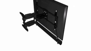 How to install the Lithe Audio Universal Sound Bar Bracket - 06400