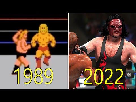 Evolution of WWE Games 1989-2018 thumbnail