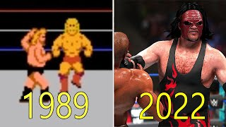 Evolution of WWE Games 1989-2018