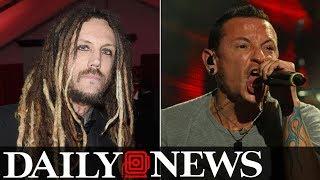 Korn guitarist slammed for post about Chester Bennington's suicide