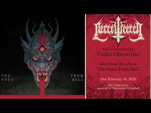 Necrowretch - Codex Obscuritas (official track premiere)