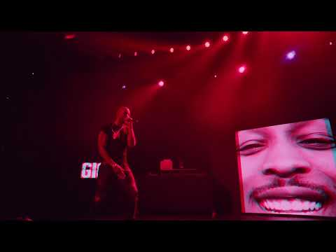 JME FT GIGGS -  MAN DON'T CARE (Live)