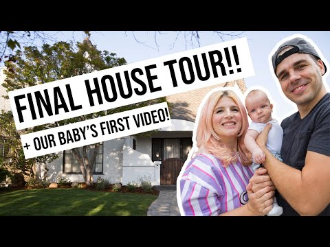 Final House Tour & Our Baby's First Video! | OMG We Bought A House - Ruslar.Biz