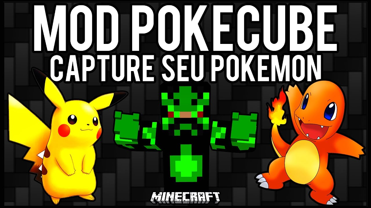 Download [Tutorial]MOD PokeCube - Capture Seu Pokemon Minecraft