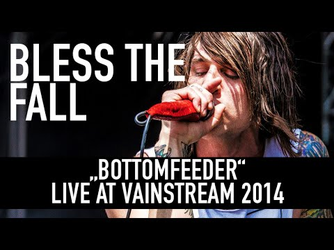 Blessthefall | Bottomfeeder | Official Livevideo |Vainstream 2014