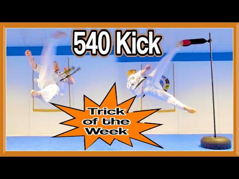 TOTW: Taekwondo 540 Kick (Slow-Motion) | GNT