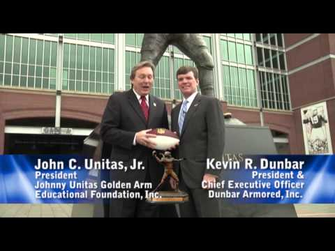 Dunbar JohnnyU Golden Arm Award Commercial.mp4