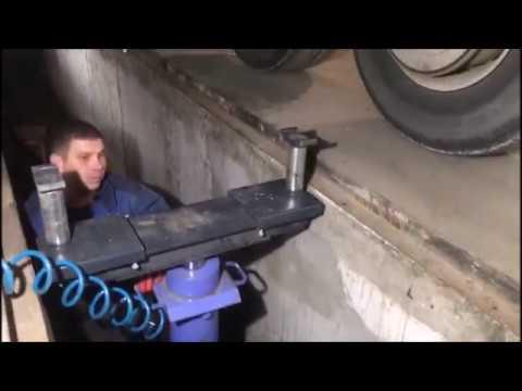 Ямный напольный подъёмник 15 тонн  КПП15Р1000  НПО Автомотив  1 год эксплуатации
