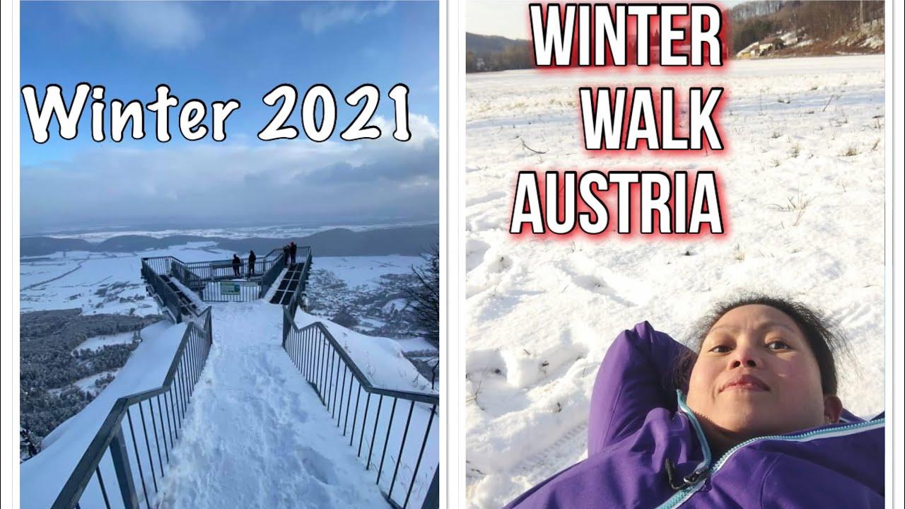 Winter Walk Austria Europe#WinterInAustia#Winter2021