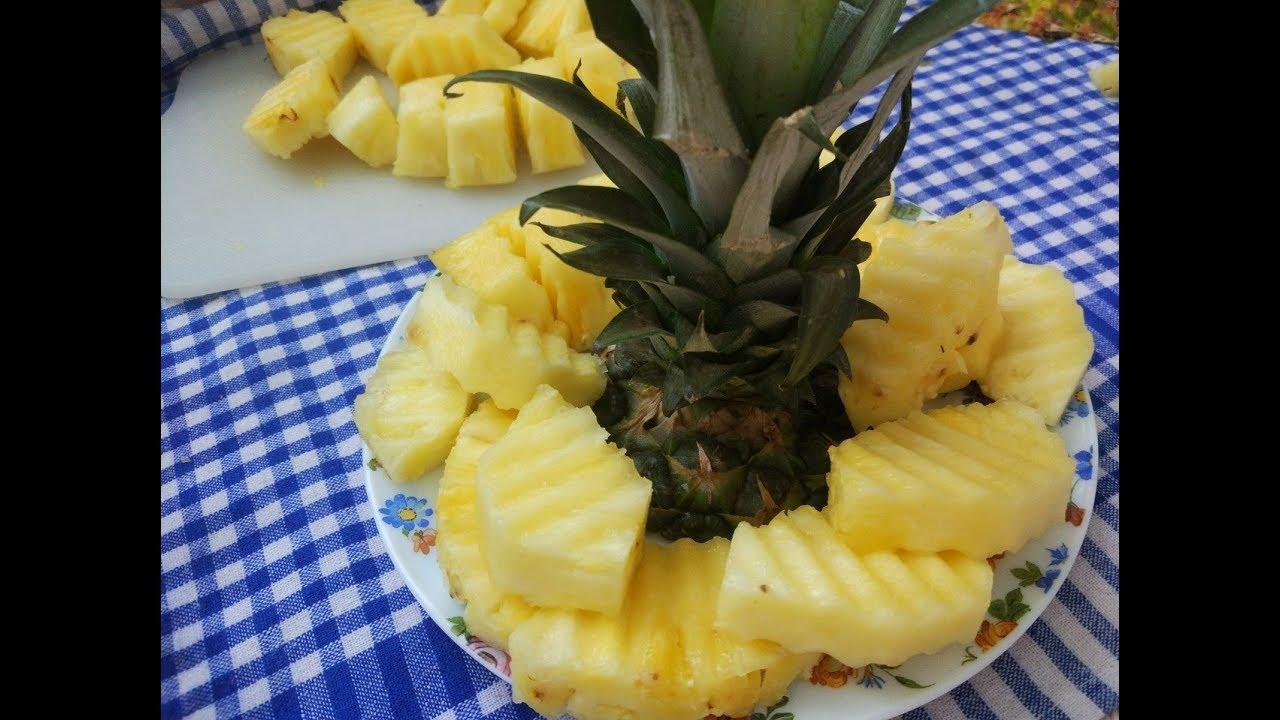 Ananas nasıl soyulur / çok kolay tarifler