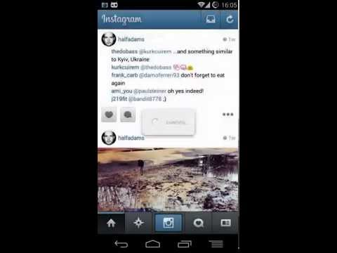 """How to use """"EasyDownloader for Instagram"""" Android app"""