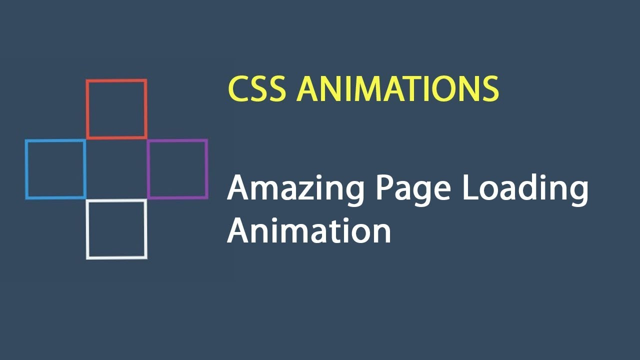 CSS Stylish Page Loading Animation | CSS Animations | csPoint