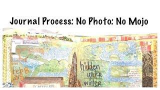 Journal With Me: Junk Journal Process Video: Junk Journalling
