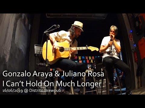 Gonzalo Araya & Juliano Rosa - I Can't Hold On Much Longer @ Distrito Brewpub 13/06/2019