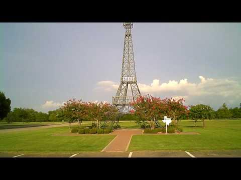 Paris Texas Eiffel Tower