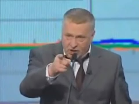 Russian politician Zhirinovsky vs Zbigniew Brzezinski (1/2) (English subs)