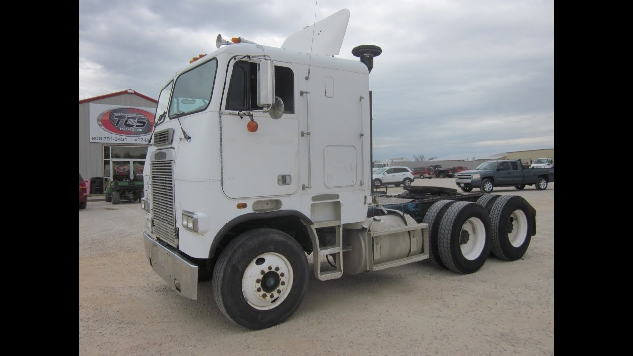 Freightliner Cabover For Sale >> 1988 Freightliner FLA86 Cabover Sleeper Truck ***This until is SOLD*** - YouTube