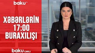 Xəbərlərin - 17.00 buraxılışı (24.01.2020)