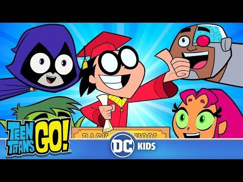 Teen Titans Go! In Italiano | Si Ritorna A Scuola! | DC Kids
