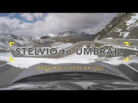 Stelvio Pass to Umbrail Pass - Porsche Cayman GTS