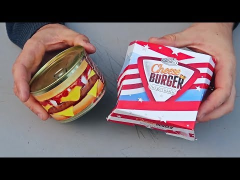 5 Strange Products in a Can Part 2