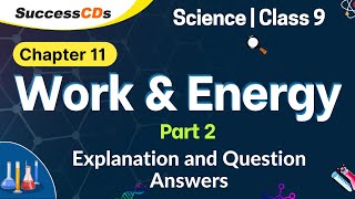 Work Energy And Power Class 9 Notes