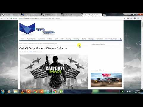 How To Download Full PC GAMES For Free Using UTorrent - 2018