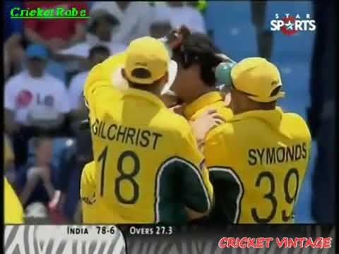 India V Australia | World Cup 2003 Group Game