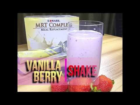 Vanilla Berry Shake | #EdmarkSmoothie