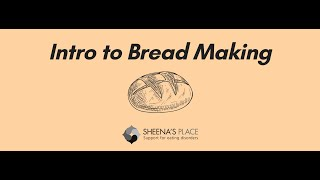 Webinar: Intro to Bread Making