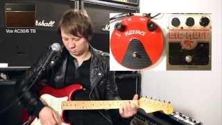Dunlop Fuzzface Reissue vs Electro Harmonix Big Muff