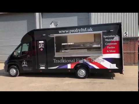 Pro Fry Ltd | Fish And Chip Van Tour