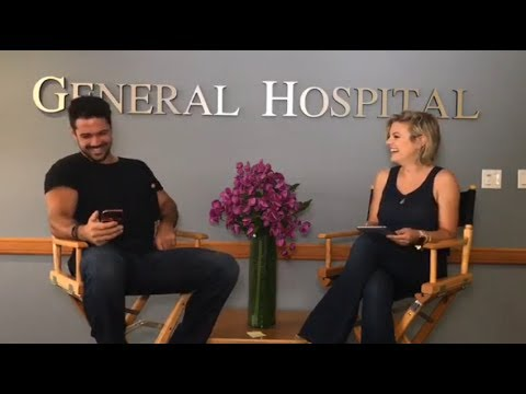 Ryan Paevey & Kirsten Storms facebook live chat