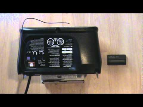 how to program genie and liftmaster transmitters doovi. Black Bedroom Furniture Sets. Home Design Ideas