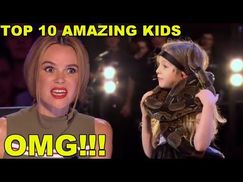 [MOST AMAZING KIDS] BEST TOP 10 AUDITIONS EVER ON BRITAINS GOT TALENT!