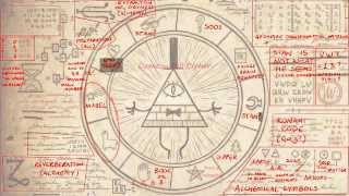 Gravity Falls - Bill's Wheel COMPLETELY Decoded!