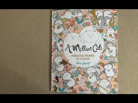 A Million Cats Fabulous Felines To Color Flip Through
