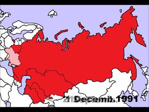 Soviet Union Breakup (1990-1991)
