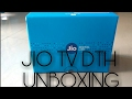 Jio tv dth first look & Unboxing
