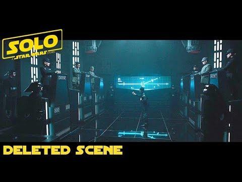 SOLO A Star Wars Story (Han Solo) Imperial Cadet Deleted Scene