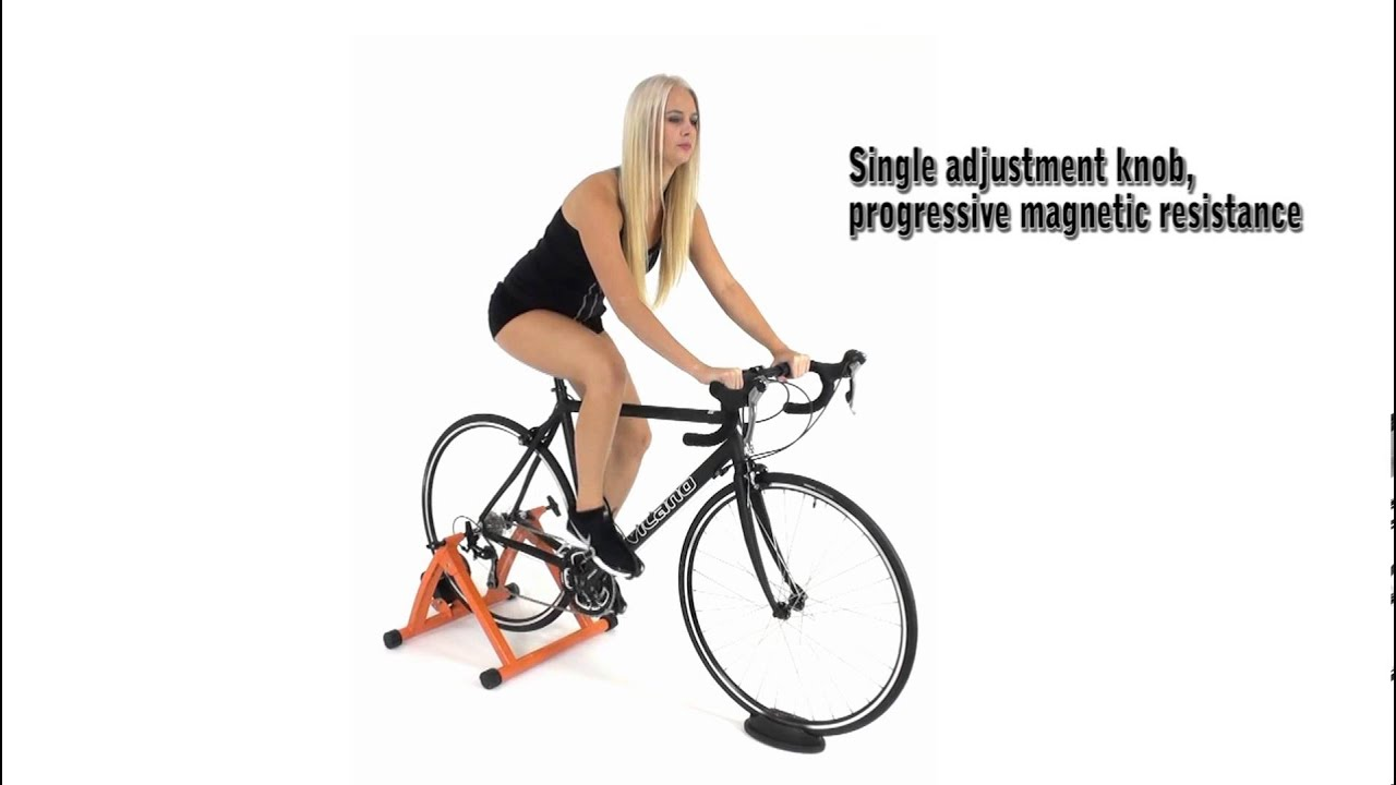 6ac337c184e Conquer Indoor Bicycle Cycling Trainer Exercise Stand - YouTube