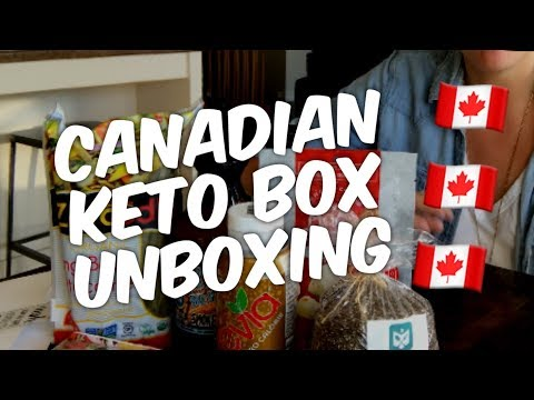 Canadian Keto Subscription Box - Unboxing!