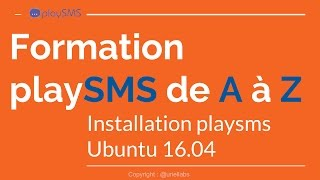 Installation playSMS ubuntu16 04
