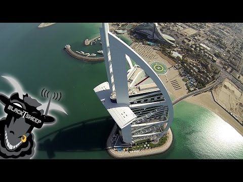 Watch Hardware Hackers Fly A Drone Over The Burj Khalifa, The Tallest Building In The World